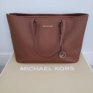 Michael Kors Medium Top-Zip Tote Bag